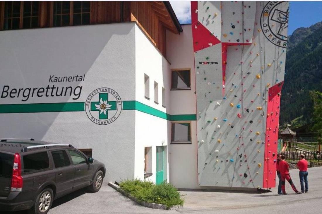 Einweihung Kletterturm Ortsstelle Kaunertal
